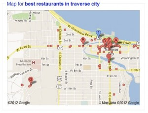 Local Map for Website SEO Optimization